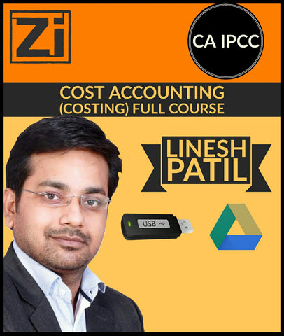 CA IPCC Cost Accounting (Costing) Full Course Video Lectures By Linesh Patil - Zeroinfy