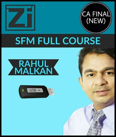 CA Final (New) Strategic Financial Management (SFM) Full Course Videos By Rahul Malkan - Zeroinfy