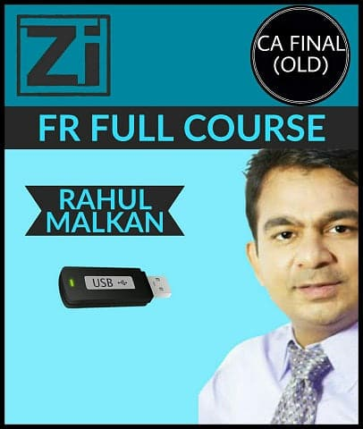 CA Final (Old) Financial Reporting (FR) Full Course Video Lectures By Rahul Malkan - zeroinfy