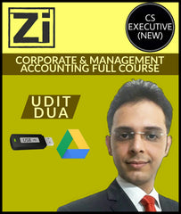 CS Executive (New) Corporate And Management Accounting Full Course Videos By Udit Dua - Zeroinfy