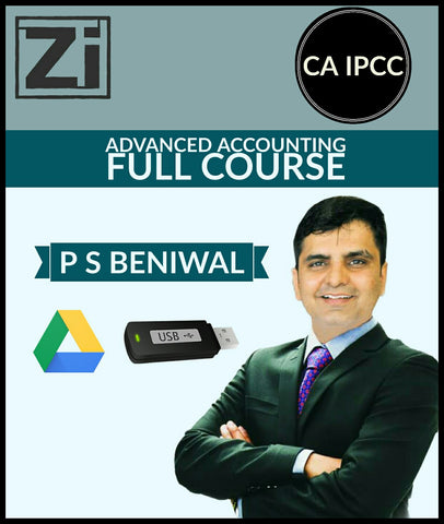 CA IPCC Advanced Accounting Full Course Video Lectures By P S Beniwal - zeroinfy