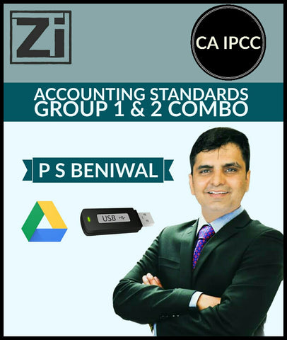CA IPCC Accounting Standards Group 1 And 2 Combo Course Videos By P S Beniwal - zeroinfy