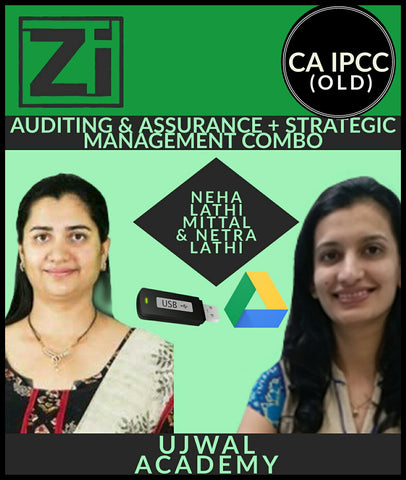 CA IPCC (Old) Auditing And Assurance + Strategic Management Combo Course Videos By Ujwal Academy - Zeroinfy