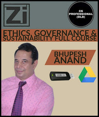 CS Professional (Old) Ethics, Governance And Sustainability Full Course Videos By Bhupesh Anand - Zeroinfy