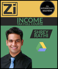 CA Inter (Old/New) Income Tax Full Course By Shrey Rathi - Zeroinfy