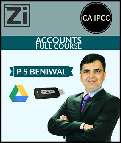 CA IPCC Accounts Full Course Video Lectures  By P S Beniwal - zeroinfy