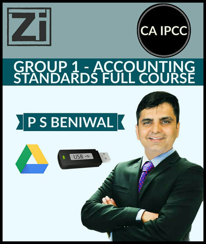 CA IPCC Group 1 Accounting Standards Full Course Video Lectures By P S Beniwal - zeroinfy