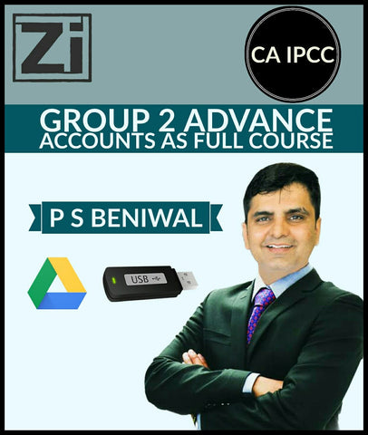 CA IPCC Group 2 Adv. Accounts AS (Accounting Standards) Full Course Videos By P S Beniwal - zeroinfy