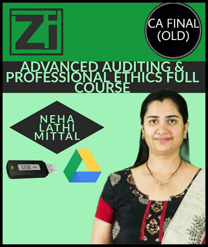 CA Final (Old) Advanced Auditing And Professional Ethics Full Course Videos By Neha Lathi Mittal - Zeroinfy