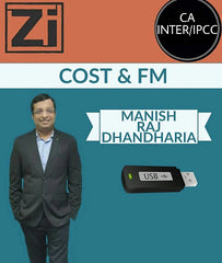 CA INTER/IPCC Cost and FM Full Course By Manish Raj Dhandharia - Zeroinfy