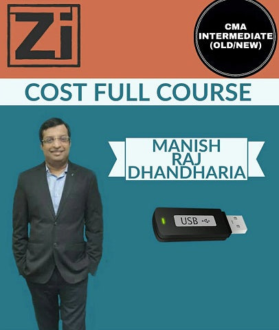 CMA INTER (Old And New) Syllabus Cost Full Course by  Manish Raj Dhandharia - Zeroinfy