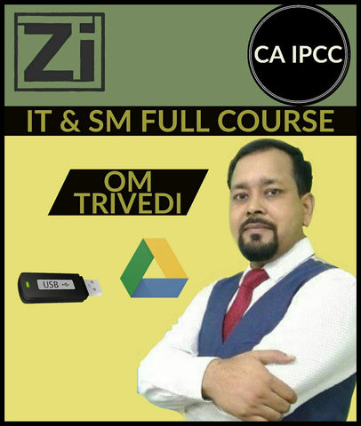 Ca Ipcc It And Sm Full Course Combo Video Lectures By Om Trivedi - Itsm