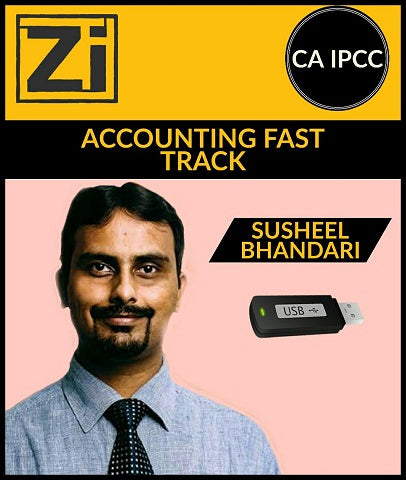 CA IPCC Accounting Full Course Video Lectures By Susheel Bhandari - Zeroinfy