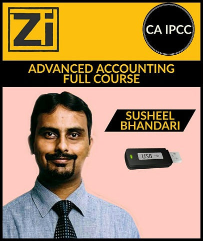 CA IPCC Advanced Accounting Full Course Video Lectures By Susheel Bhandari - Zeroinfy