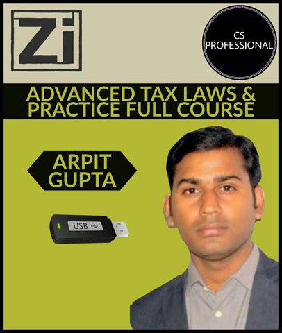 Cs Professional Advanced Tax Laws & Practice Full Course Video Lectures By Arpit Gupta - All Subjects