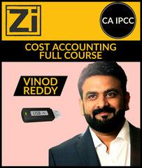 CA IPCC Cost Accounting Full Course Video Lectures By Vinod Reddy - Zeroinfy