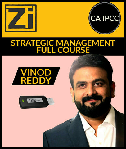 CA IPCC Strategic Management (SM) Full Course Video Lectures By Vinod Reddy - zeroinfy