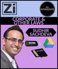 CA Intermediate Corporate And Other Laws Video Lectures By Sudhir Sachdeva - Zeroinfy