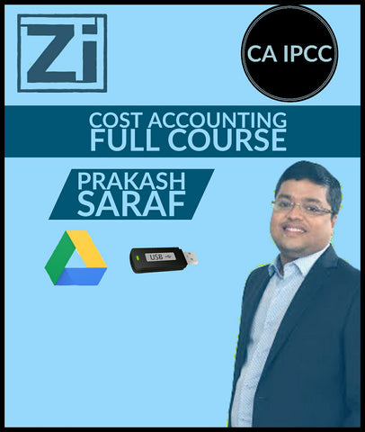 CA IPCC Cost Accounting (Costing) Full Course Video Lectures By Prakash Saraf - Zeroinfy