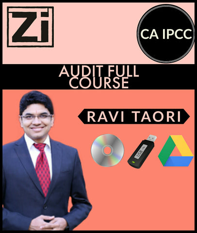 CA IPCC Audit Full Course Video Lectures By Ravi Taori (Old) - Zeroinfy