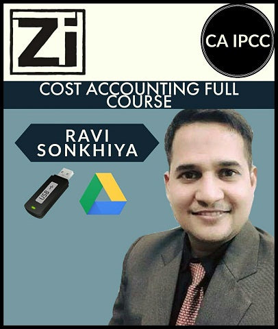 CA IPCC Cost Accounting Full Course By Ravi Sonkhiya - Zeroinfy