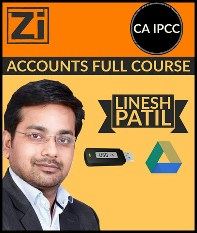 CA IPCC Accounts Full Course Video Lectures By Linesh Patil - Zeroinfy
