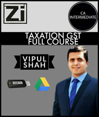 CA Intermediate Taxation GST Full Course Videos By Vipul Shah - Zeroinfy