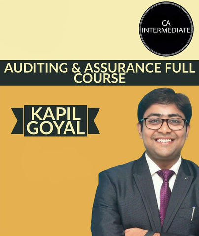 CA Inter Auditing & Assurance New Syllabus Full Course By Kapil Goyal - Zeroinfy