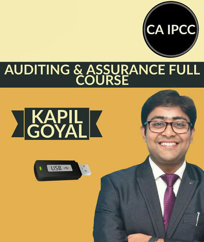 CA IPCC Auditing & Assurance Old Syllabus Full Course By Kapil Goyal - Zeroinfy