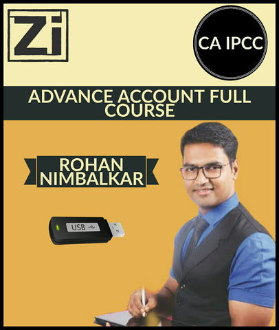 CA IPCC Advance Account Full Course By Rohan Nimbalkar - Zeroinfy
