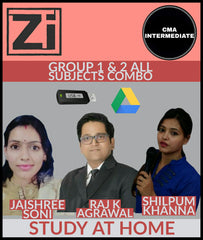 CMA Inter (Group I And Group 2) All Subjects Combo By Study At Home - Zeroinfy