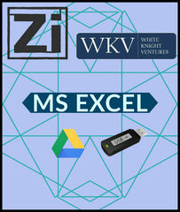 MS Excel By White Knight Ventures - Zeroinfy