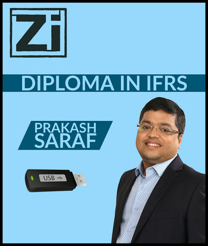 Diploma in IFRS By Prakash Saraf (Pendrive) - Zeroinfy