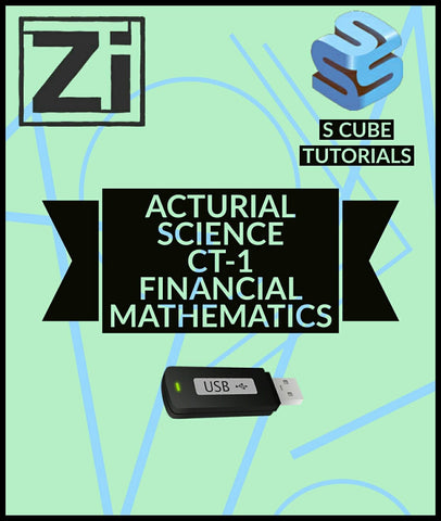 Actuarial Science CT-1 Financial Mathematics Video Lectures By Scube Tutorials - zeroinfy