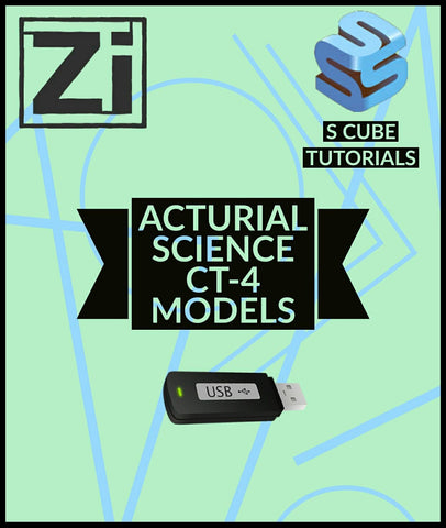 Actuarial Science CT-4 Models Video Lectures By Scube Tutorials - Zeroinfy