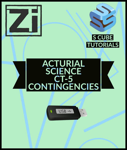 Actuarial Science CT-5 Contingencies Video Lectures By Scube Tutorials - Zeroinfy