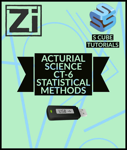 Actuarial Science CT-6 Statistical Methods Video Lectures By Scube Tutorials - zeroinfy