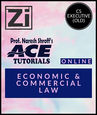 CS Executive (Old) Paper 3 Economic and Commercial Law By ACE Tutorials - Zeroinfy