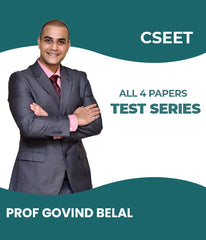 CSEET All 4 Papers Test Series By Prof Govind Belal - Zeroinfy