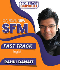 CA Final Strategic Financial Management (SFM) Fast Track English Full Course By J.K.Shah Classes - Prof Rahul Danait - Zeroinfy