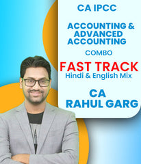 CA IPCC Accounting and Advanced Accounting Combo Fast Track By CA Rahul Garg (Old) - Zeroinfy