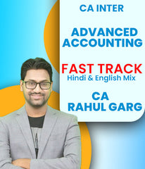 CA Inter Advance Accounts Fast Track By CA Rahul Garg - Zeroinfy