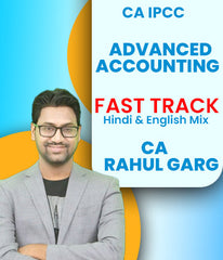 CA IPCC Advanced Accounting Fast Track Course Video Lectures By CA Rahul Garg (Old) - Zeroinfy