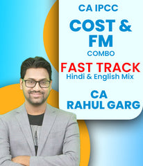 CA IPCC Cost and FM Combo Fast Track Course Video Lectures By CA Rahul Garg (Old) - Zeroinfy
