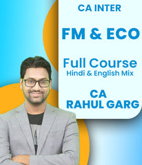 CA Inter FM And ECO Full Course By CA Rahul Garg - Zeroinfy