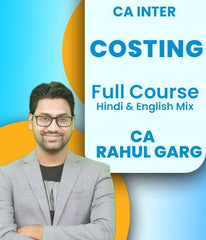 CA Inter Costing Full Course By CA Rahul Garg - Zeroinfy