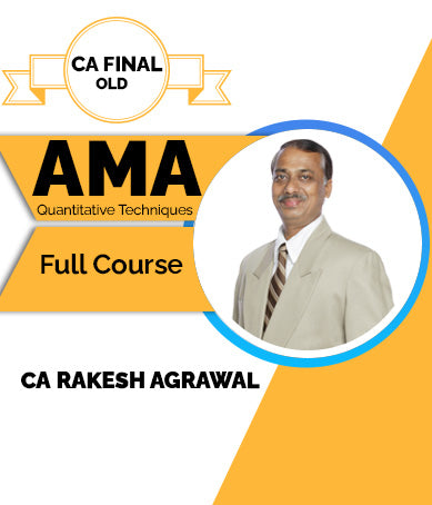CA Final Old AMA Full Course By Rakesh Agrawal (Quantitative Techniques) - Zeroinfy