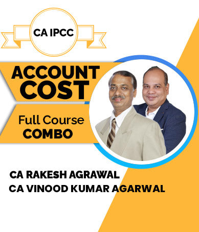 CA IPCC Account And Cost Combo Full Course Videos | Vinod Agarwal And Rakesh Agrawal (Old) - Zeroinfy