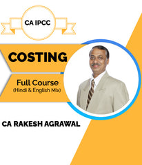 CA IPCC Cost Accounting (Costing) Full Course Video Lectures By CA Rakesh Agrawal - Zeroinfy