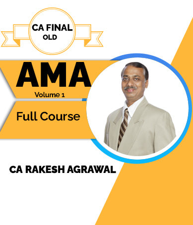 CA Final Advanced Management Accounting Volume 1- Marginal Cost Full Course By Rakesh Agrawal (Old) - Zeroinfy
